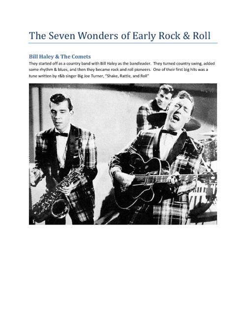 Early Rock & Roll