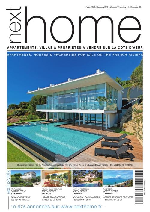 Magazine Nexthome Aout 2013
