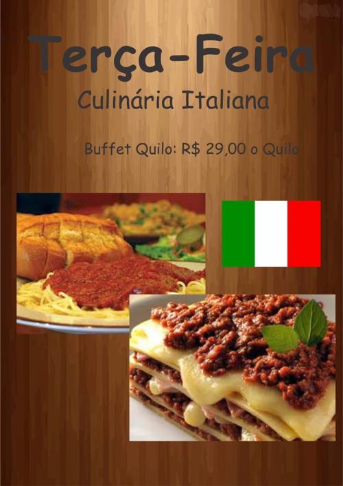 Cardápio Restaurante SER Marisol