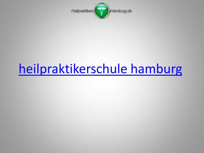 heilpraktikerschule hamburg