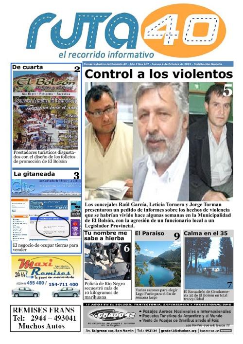 Diario Jueves 4 de Octubre