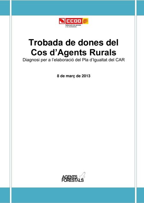 Trobada de dones del Cos d'Agents Rurals