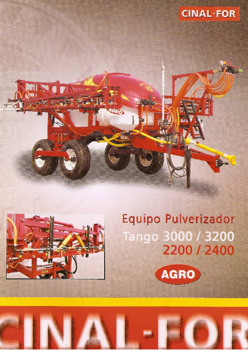 Cinal For - Tango Agro 2200/2400 3000/3200