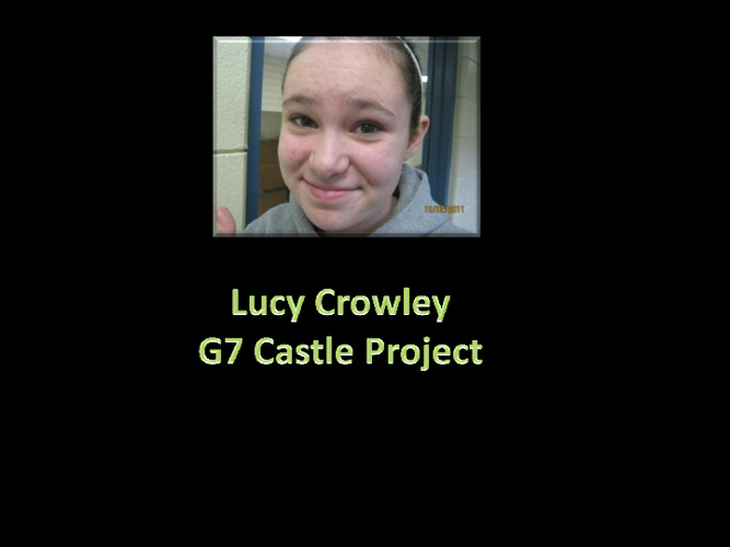 G7 Castles Lucy Crowley