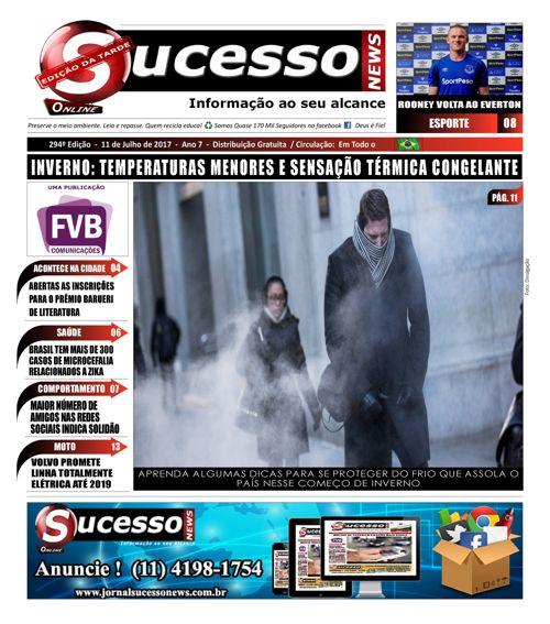 Jornal Sucesso News - Edição - 294 ONLINE