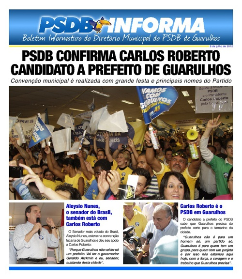 Boletim Informativo PSDB Guarulhos