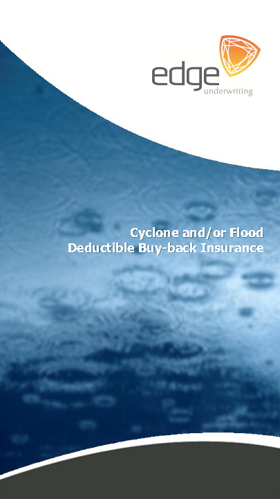 Deductible Buy-Back Brochure