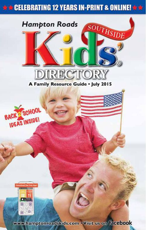 Hampton Roads Kids' Directory: July 2015 Southside Edition