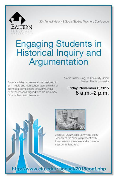 2015 History and Social Studies Teachers' Conference at EIU