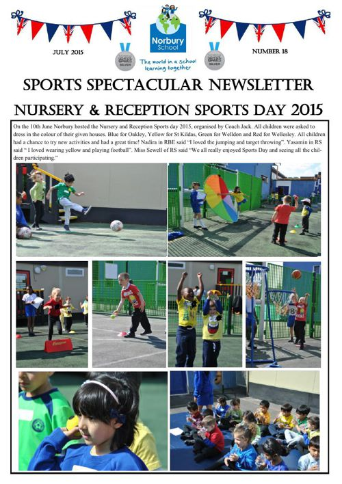 Sports Newsletter Number 18
