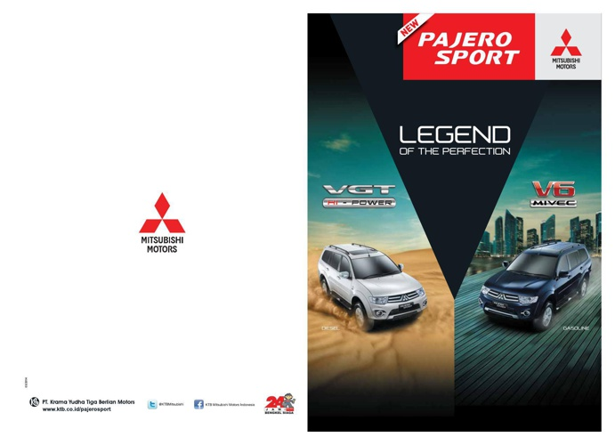 CATALOGUE PAJERO SPORT