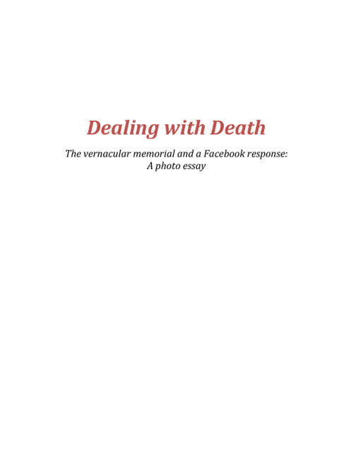 A new response to death
