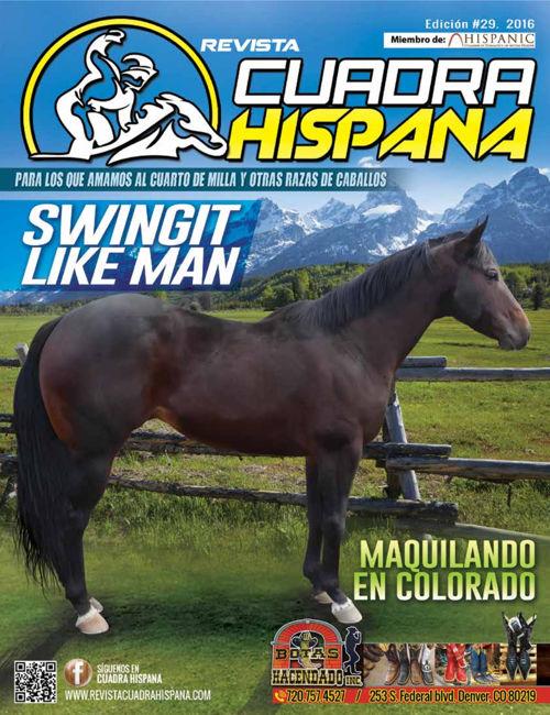 REVISTA  CUADRA HISPANA Edición #29, 2016