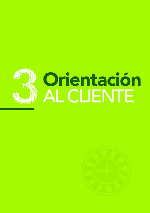 3. ORIENTACION AL CLIENTE