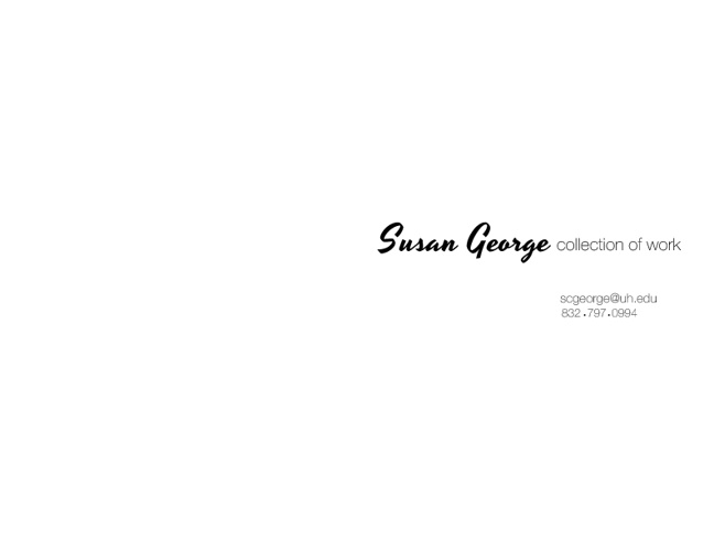 Susan George collection of work
