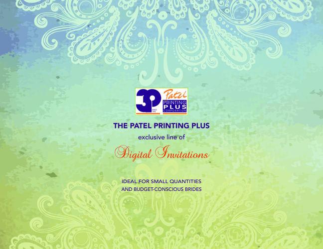 DIGITAL INDIAN WEDDING  INVITATIONS