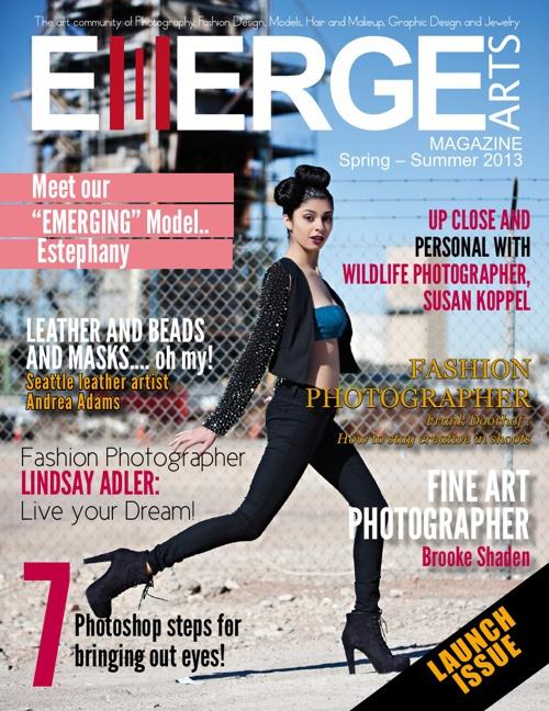 EMERGEarts Magazine Launch Issue