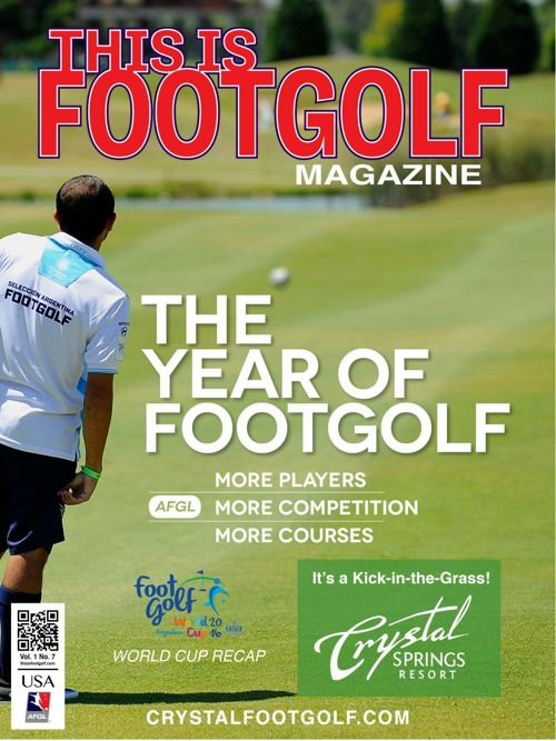 Crystal Spring This is FootGolf Magazine - February 2016
