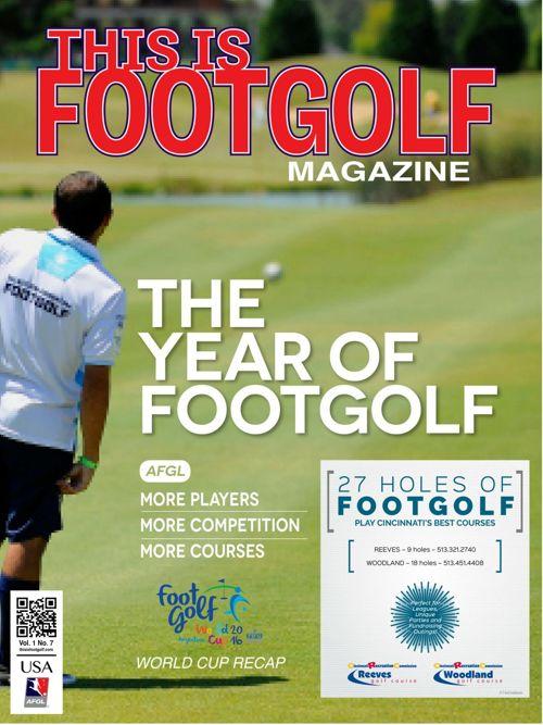 CincinnatiThis is FootGolf Magazine - Februa
