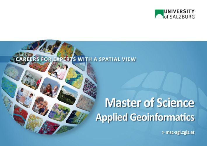 MSc Applied Geoinformatics
