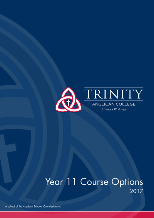 Year 11 Course Options 2017