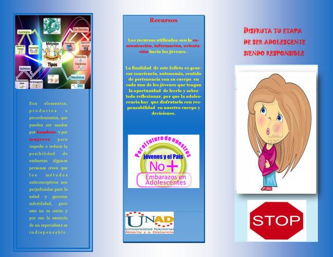 folleto de sexualidad
