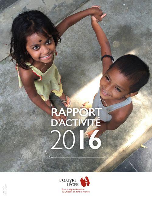L'ŒUVRE LÉGER | Rapport d'activité 2016