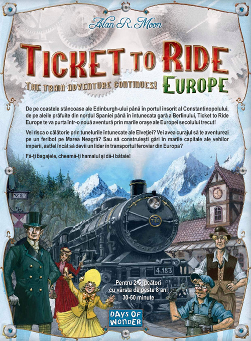 Regulament ticket to ride