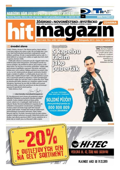 Hit magazín č.23 2013