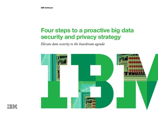Four steps to a proactive data security and privacy strategy