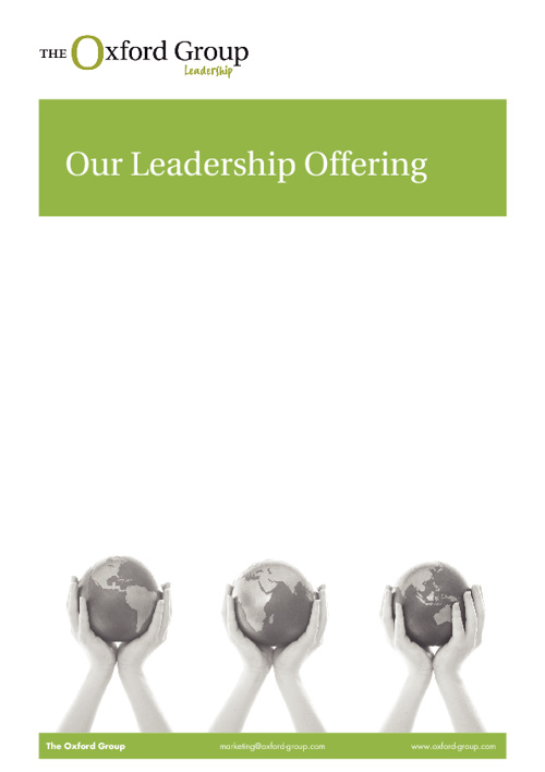 The Oxford Group Leadership Offering