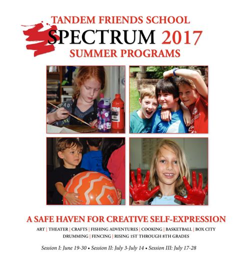 Spectrum Catalog 2017 - Tandem Friends School