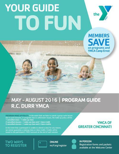 RC Durr YMCA Program Guide