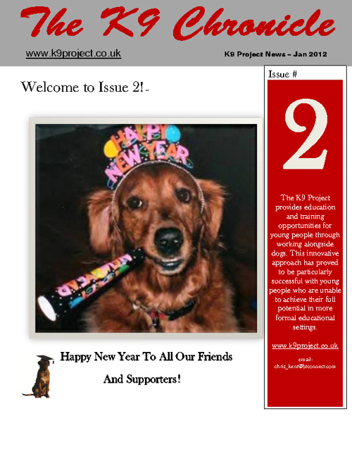 K9 Chronicle January 2012