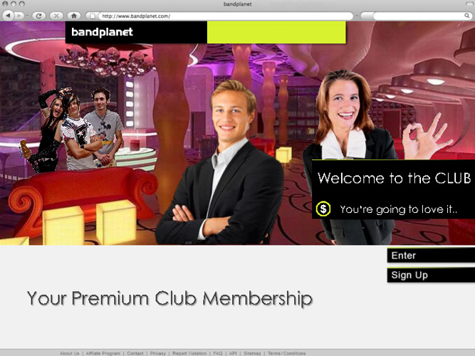 bandplanet Premium Club - Introduction