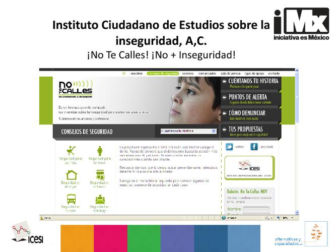 Instituto Ciudadano de Estudios sobre la Inseguridad, A,C.