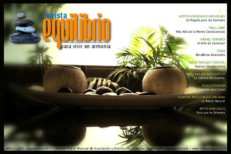 Revista Equilibrio - Septiembre 2011