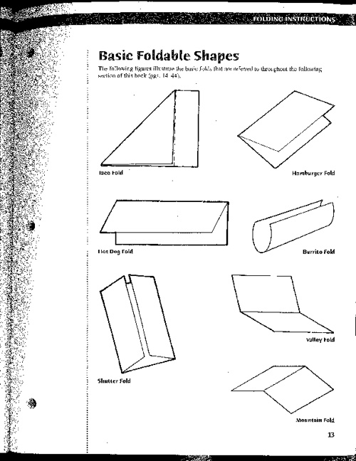 How to make a FOLDABLE note