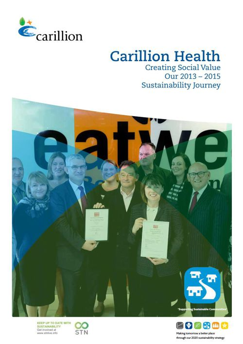 Our Sustainability Journey 2013 to 2015 - Healthcare