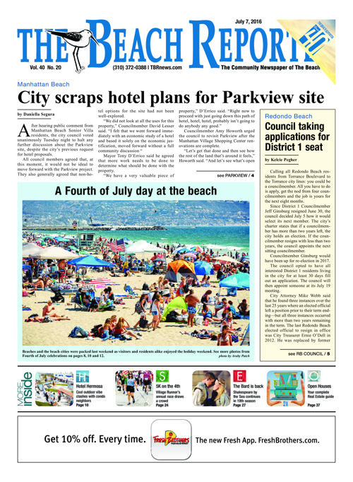 The Beach Reporter | July 7, 2016