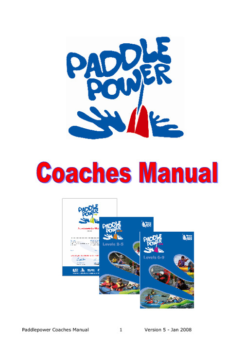 Paddle Power Coaches Manual