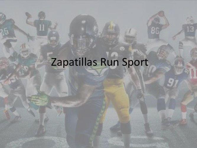 Zapatillas Run Sport
