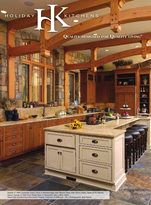 Holiday Kitchens Foldout Door Brochure
