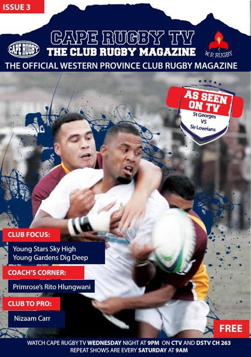 Cape Rugby TV magazine edition 3