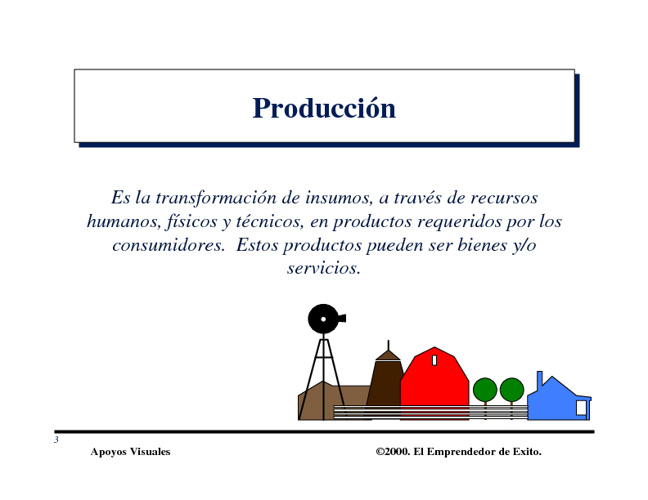 Estudio Técnico y de Producción