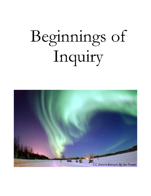 Beginnings of Inquiry