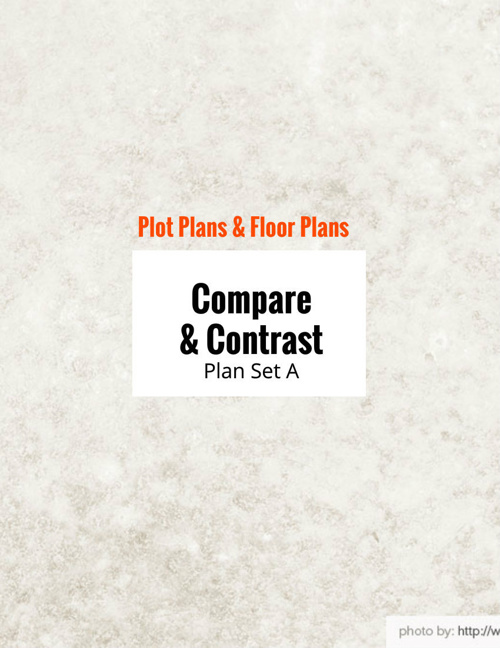 Types of Plans: Compare & Contrast Floor Plan vs. Plot Plan