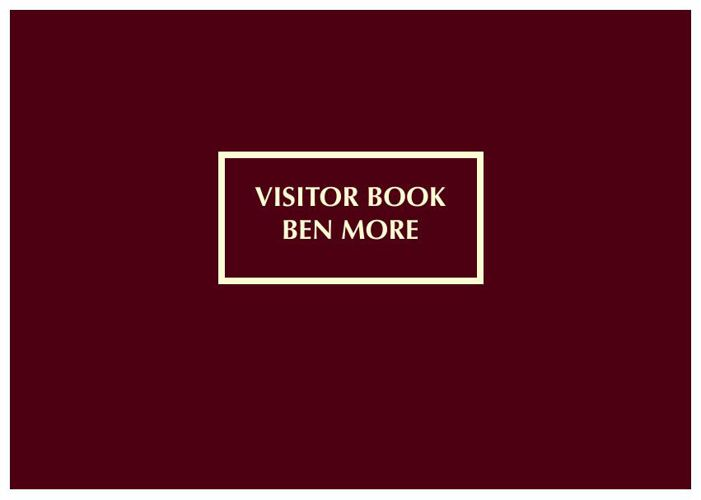 Visitor Book Ben More