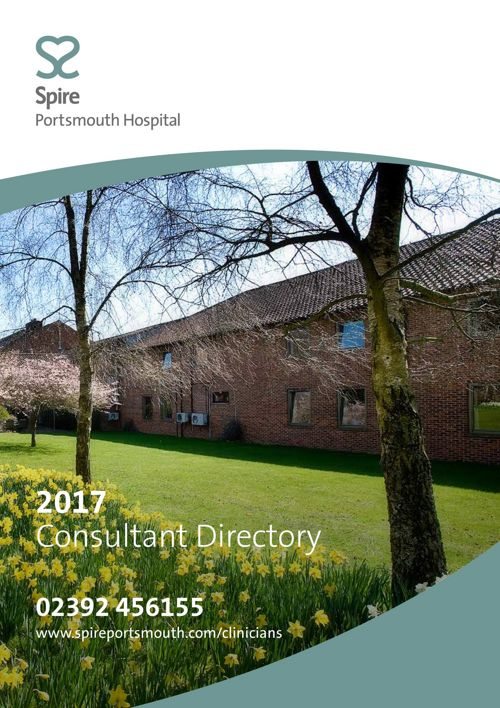 Spire 2017 Consultant Directory - Portsmouth