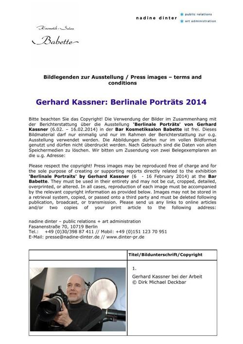 Press image list_Gerhard Kassner_Berlinale Star Portraits_Bar Ba